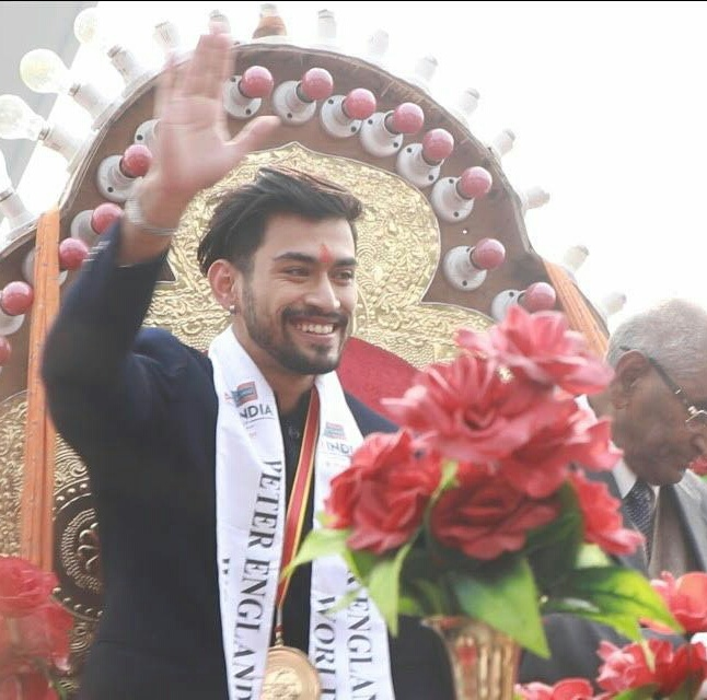 Welcome To Mr Hardison S Page: Lucknow's Grand Welcome To Newly Crowned Mr India World